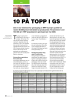 10 PÅ TOPP I GS