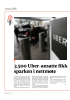 3.500 Uber-ansatte fikk sparken i nettmøte
