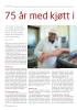 75 år med kjøtt i Lillesand