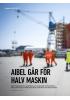 AIBEL GÅR FOR HALV MASKIN
