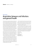 Association between oral infections and general health