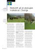 Beitedrift på et økologisk melkebruk i Sverige