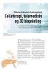 Celleterapi, telemedisin og 3D bioprinting