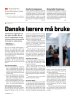 Danske lærere må bruke visir i klasserommet