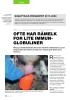 DEL 3 - QUALITYCALF-PROSJEKTET OFTE HAR RÅMELK FOR LITE IMMUNGLOBULINER