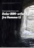 Deler BIM- erfaringer fra Vamma 12