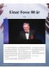 Einar Fosse 80 år