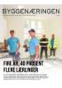 FIRE ÅR, 40 PROSENT FLERE LÆRLINGER