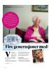 Fire generasjoner med dl lemmer i Fagforbundet