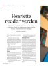 Henriette redder verden