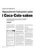 Høyesterett forkastet anke i Coca-Cola-saken