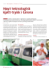 Høyt teknologisk kjøtt-trykk i Girona
