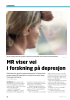 MR viser vei i forskning på depresjon