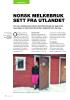 NORSK MELKEBRUK SETT FRA UTLANDET