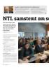 NTL samstemt om sentrale kronetillegg