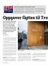 Oppgaver flyttes til Trondheim, mot anbefaling