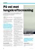 På vei mot lungekreftscreening