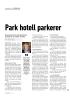 Park hotell parkerer