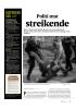 Politi mot streikende
