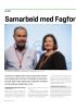 Samarbeid med Fagforbundet i fire nye år