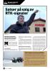 Satser på salg av RTK-signaler