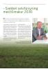 - Svekket selvforsyning med Klimakur 2030