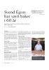 Svend Egon har vært baker i 60 år