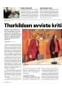 Thorkildsen avviste kritikk fra Søgnen