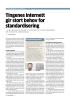 Tingenes internett gir stort behov for standardisering