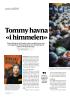 Tommy havna «i himmelen»