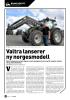 Valtra lanserer ny norgesmodell