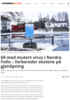 69 med mutert virus i Nordre Follo - forbereder skolene på gjenåpning