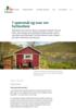 7 spørsmål og svar om hytteutleie