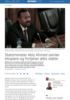 Abiy samler etiopiere og fortjener alles støtte