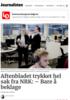 Aftenbladet trykket hel sak fra NRK: - Bare å beklage