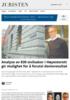Analyse av 830 sivilsaker i Høyesterett gir mulighet for å forutsi domsresultat