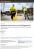 Arbeiderne holder korona-avstand på byggeplassen