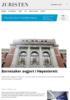 Barnesaker avgjort i Høyesterett
