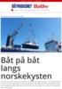 Båt på båt langs norskekysten