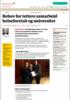 Behov for tettere samarbeid helseforetak og universitet
