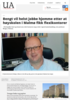 Bengt vil helst jobbe hjemme etter at høyskolen i Malmø fikk flexikontorer