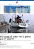 Bli trygg på sjøen ved å glane på en skjerm