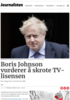 Boris Johnson vurderer å skrote TV-lisensen