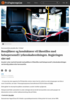 Bussjåfører og konduktører vil likestilles med helsepersonell i yrkesskadeordningen. Regjeringen sier nei