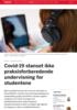 Covid-19 stanset ikke praksisforberedende undervisning for studentene