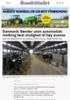 Danmark: Bønder uten automatisk melking best mulighet til høy avanse