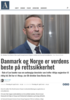 Danmark og Norge er verdens beste på rettssikkerhet