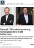 Danmark: Vil ha eksterne eiere og klientnapping for å få økt konkurranse