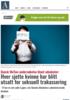 Dansk MeToo-undersøkelse blant advokater: Hver sjette kvinne har blitt utsatt for seksuell trakassering