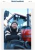 - Det er altfor mange dødsulykker med traktor